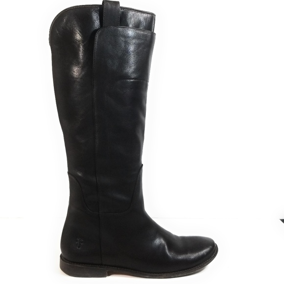 Frye Shoes - Frye Paige Women Distressed Brown Riding Boots 10B